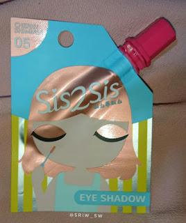 eyeshadow sis2sis