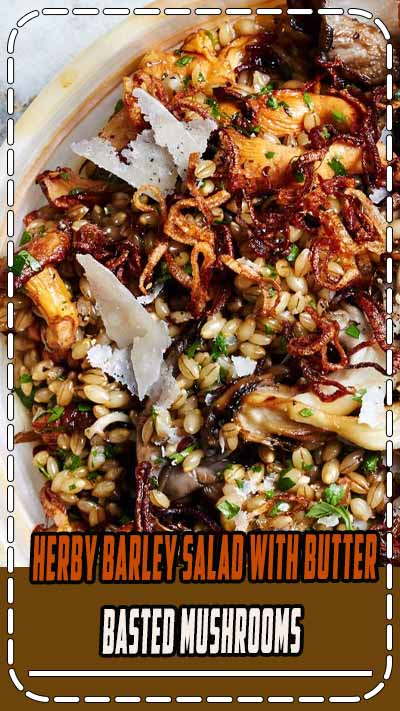 Any chewy grain, such as wheat berries, farro, or even brown rice, can replace the barley.