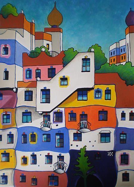 Hundertwasser-houses