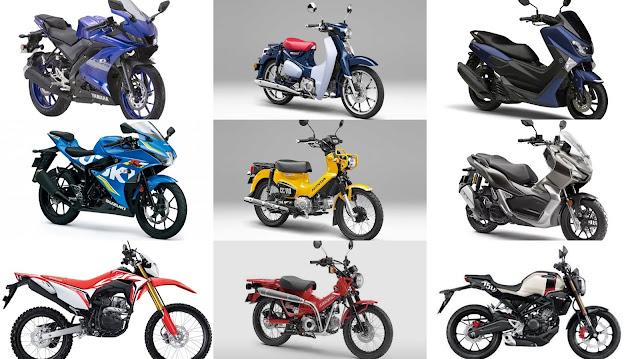 2020年夢想白牌機車清單 Honda Super Cub C125 / CC110 / CT125 / CRF150L / Yamaha NMAX / R15 v3 / Suzuki GSX-R150