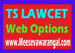 TS LAWCET 2016 Web Options