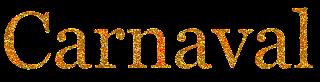 Texto Carnaval 2 dourado png