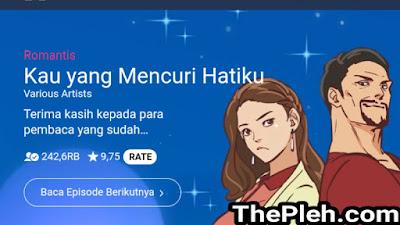 Kau yang Mencuri Hatiku Webtoon