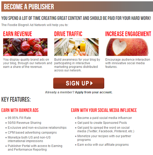 How to Signup for Foodie Blogroll and Earn Money