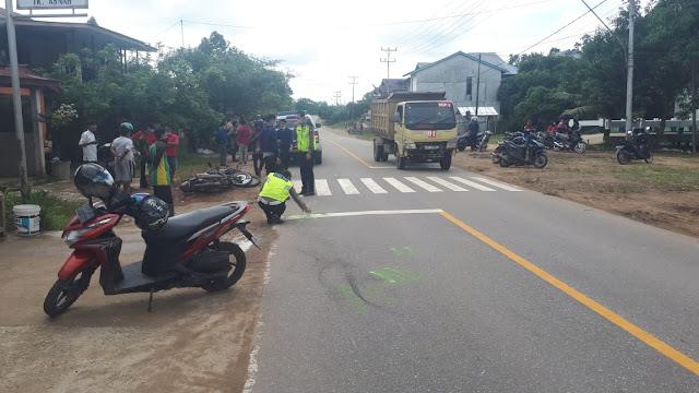 Dua Sepeda Motor Alami Kecelakaan di Sekadau Kalbar