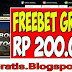 Doatogel - Bonus freebet 200.000 tanpa Deposit
