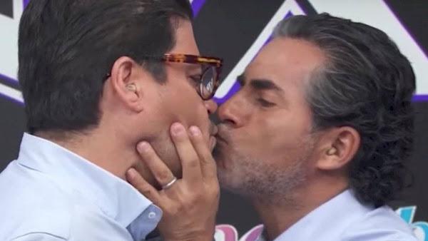Captan a Actor de HOY ¡beso y beso! con su nueva novia colombiana 20 años menor