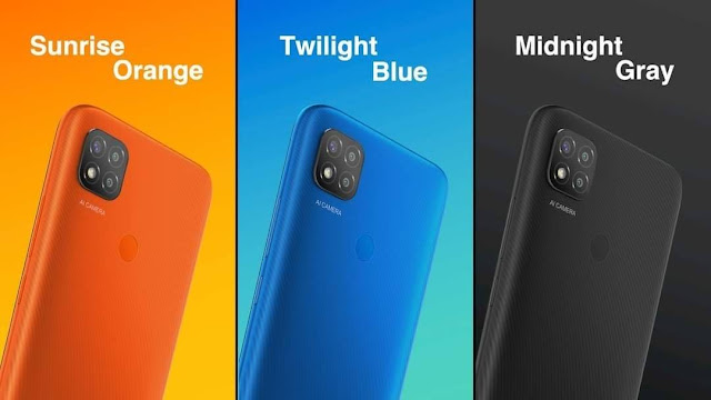 Redmi 9C Colors