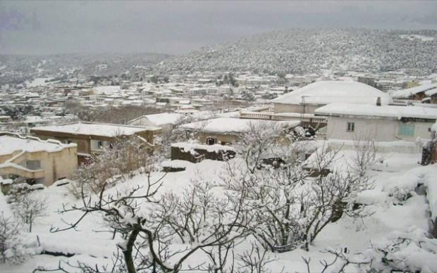 عين دراهم التونسية مدينة الثلوج