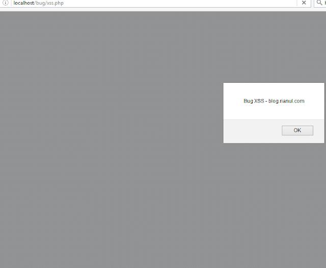 Memperbaiki Bug XSS ( Cross-Site Scripting ) Pada Website PHP