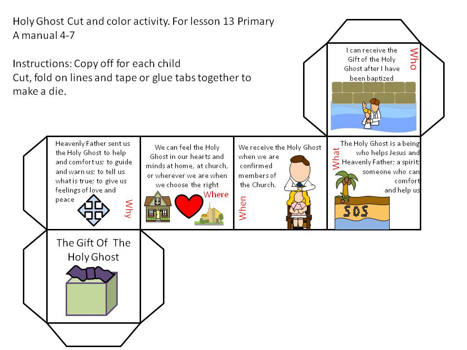 Games And Other Activities For Family Night Primary 2 A
