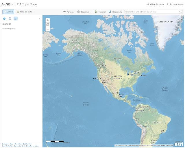 ArcGIS - Topographie