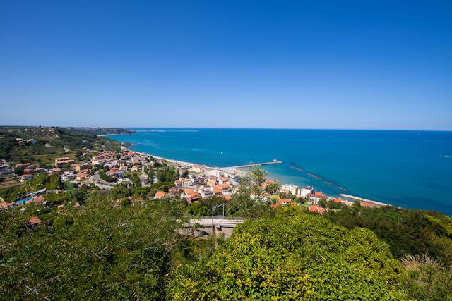 Panorama dal belvedere Marconi-San Vito Chietino