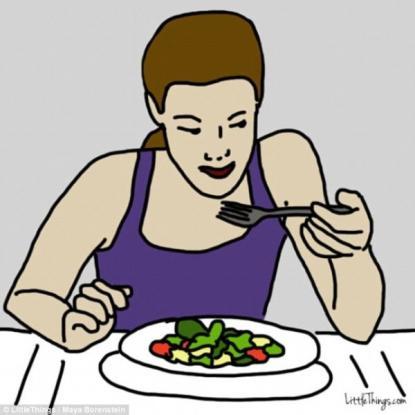 Τι αποκαλύπτει για τον χαρακτήρα σας ο τρόπος που τρώτε το φαγητό σας