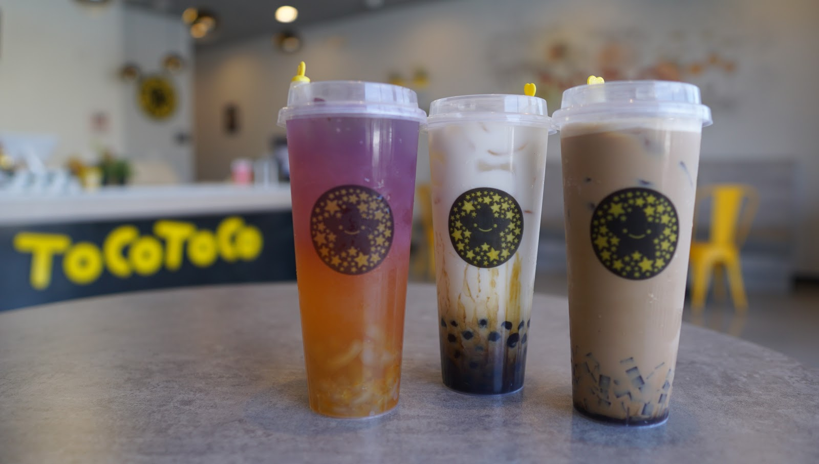 Sick of Boba Balls? Get BOBA NOODLES In Your Drink! @ Tocotoco - Garden Grove