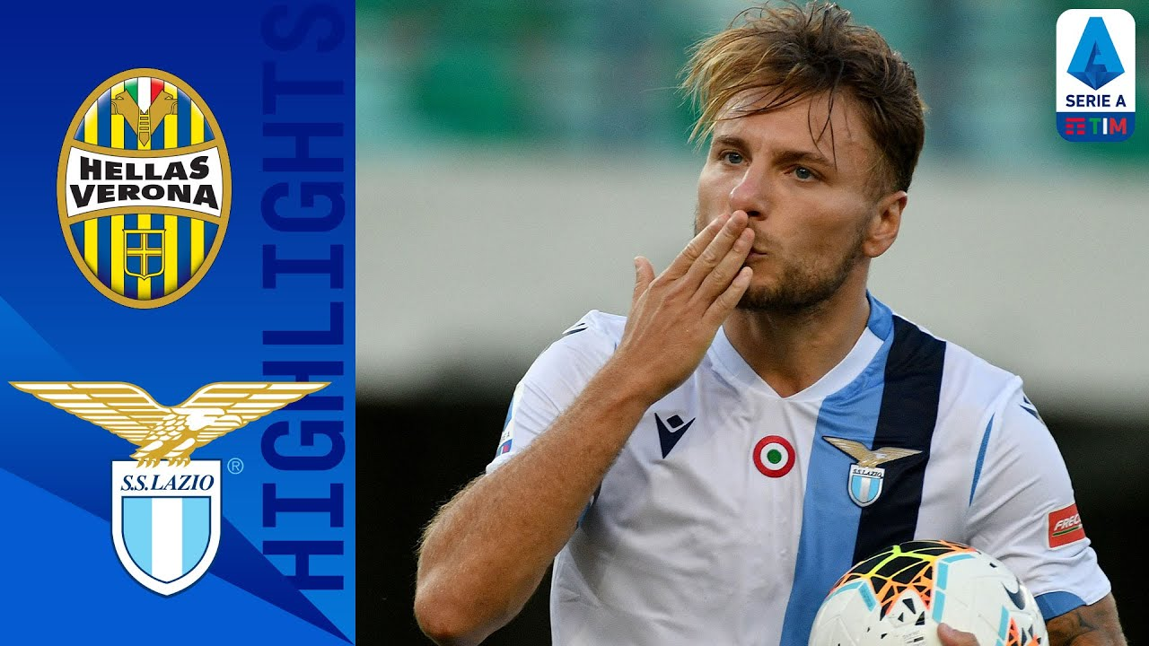 Video Verona 1-5 Lazio: Hattrick của Ciro Immobile
