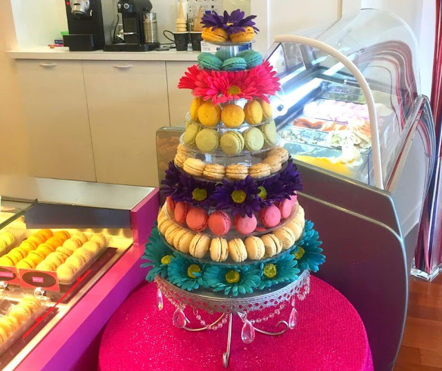 How To Celebrate Your Teen's Birthday | A cake of macaroons?