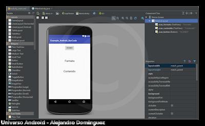 Android Studio - Lector Código de Barra