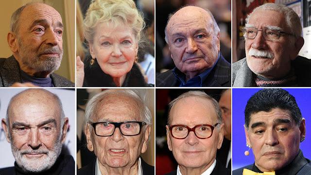 Навсегда в нашей памяти: знаменитости, умершие в 2020 году