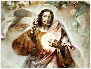 Detalhe de 'Sagrado Coração de Jesus' - Aldo Locatelli (1960), Igreja de Nossa Senhora de Lourdes, Porto Alegre