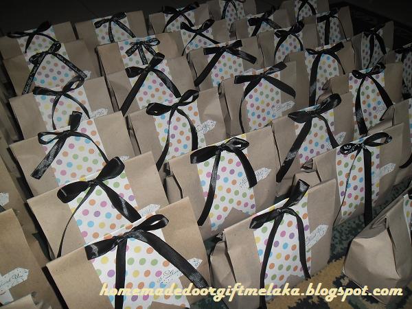 Contoh Door Gift: Pakej Door Gift (Pertunangan, Perkahwinan, Birthday