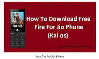Play Free Fire for JIO Phone