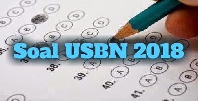 Soal USBN Sosiologi SMA/MA/SMK 2018 dan Kunci Jawabannya