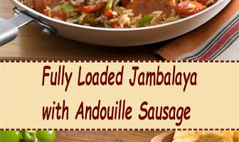 Fully Loaded Jambalaya with Andouille Sausage