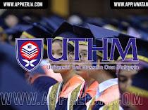 Jawatan Kosong Terkini di Universiti Tun Hussein One Malaysia (UTHM)