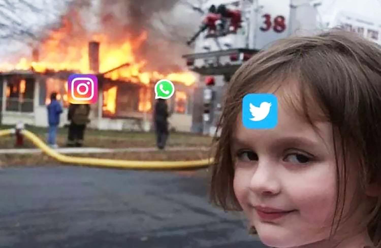 Не работают Facebook, Instagram и WhatsApp