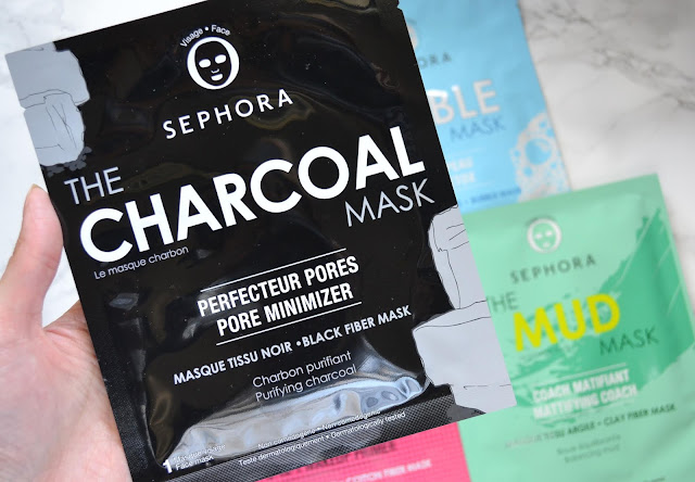 sephora collection charcoal sheet mask
