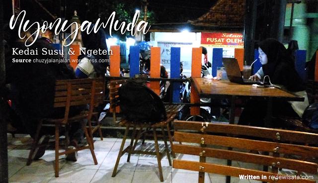 Nongkrong di Jogja Kedai Susu & Ngeteh Nyonya Muda Jalan Wates