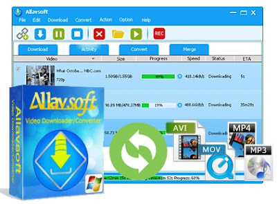 Video Download and Converter Allavsoft Software with License Serial Key