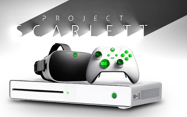 Xbox Scarlett de Microsoft : en avance sur la PS5