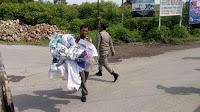 Sudah Masa Tenang, Tapi Masih Banyak APK Caleg Yang Berdiri di Samosir