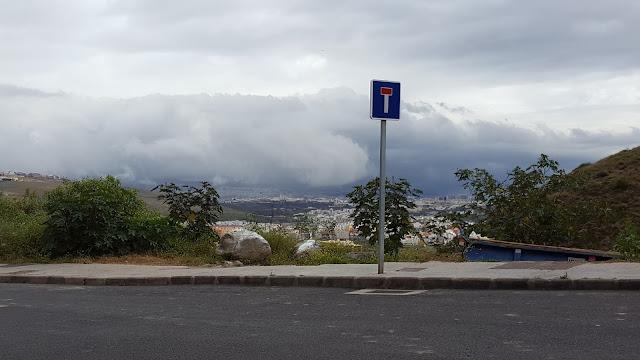 Nubes a ras de suelo, Gran Canaria