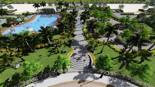 Không gian sống xanh tại An Bình City