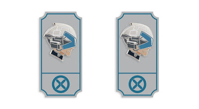 "San Diego Comic-Con 2020 Exclusive X-Men ""House of X"" Professor X Marvel Portrait Enamel Pin by Matt Taylor x Mondo"