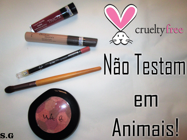 Produtos de maquiagem cruelty free