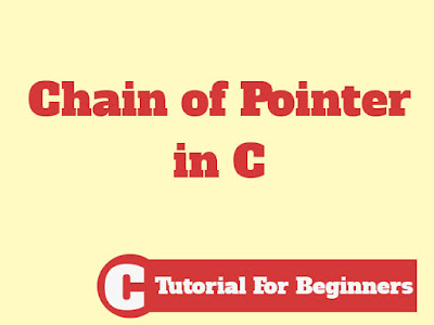 Declaration and Initialization of Chain of Pointer