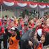 Hari Buruh Pemkab Sukoharjo Menggelar Senam Bersama