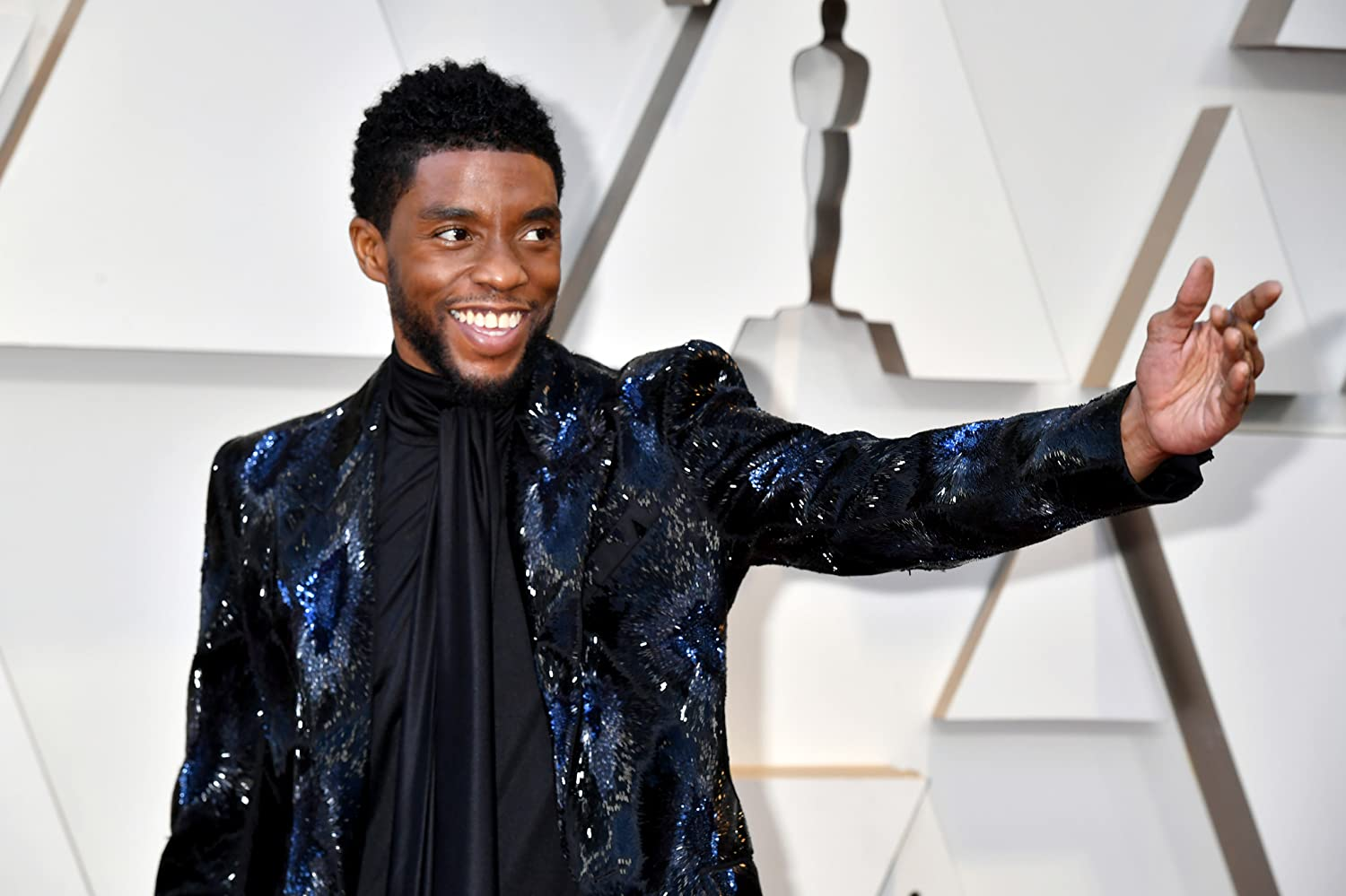Chadwick Boseman at an event for The Oscars (2019)