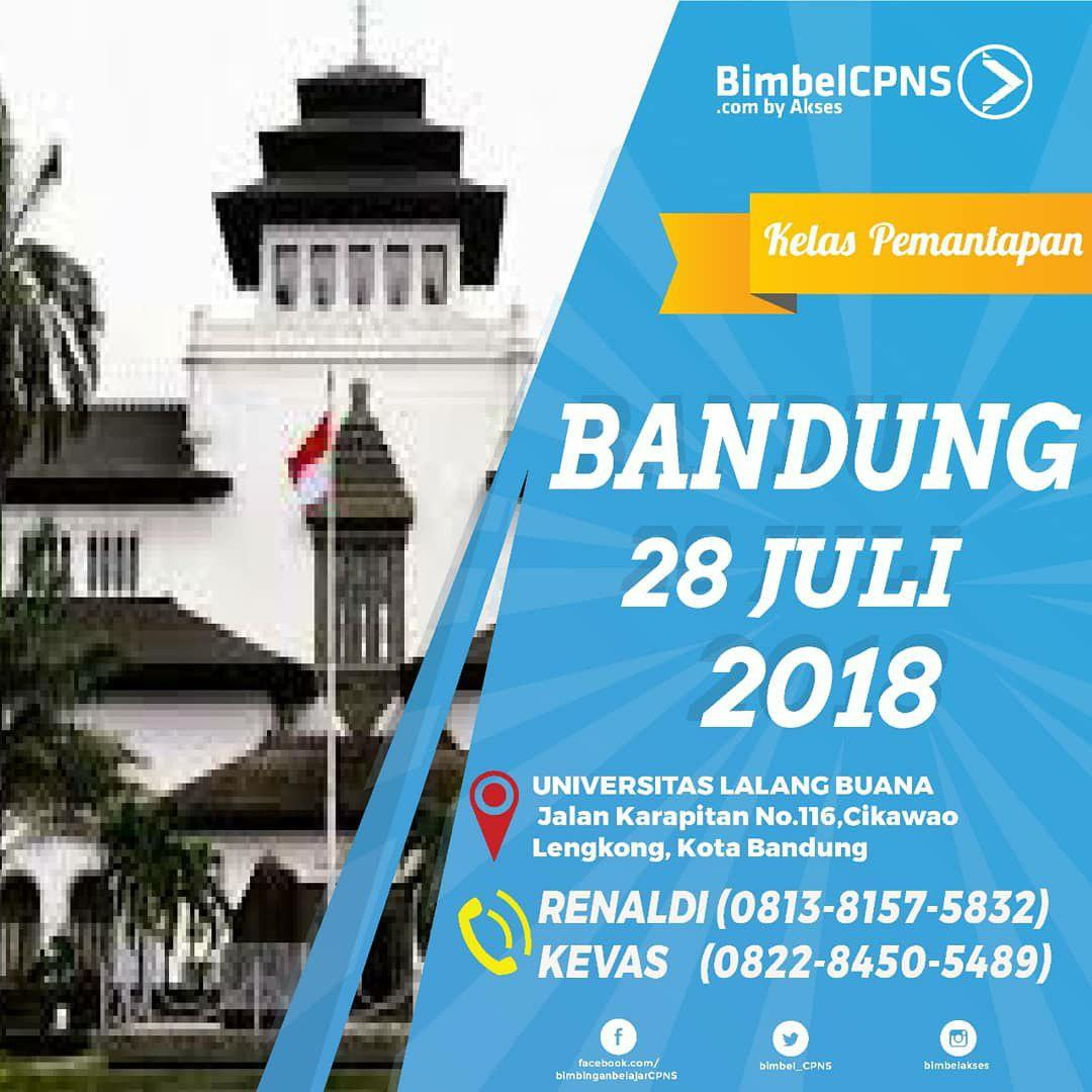 Bimbel CPNS Bandung 28 Juli 2018