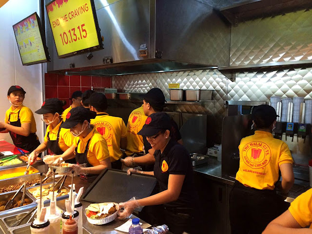 The Halal Guys at the Mega Food Hall