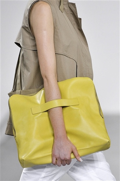 GRAY: oversized clutch, by phillip lim