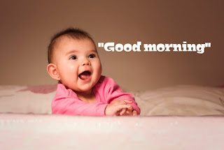 Good morning photos with baby