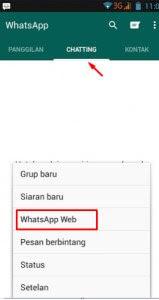 Whatsapp web Cara Simpel Sadap WA WhatsApp 2018