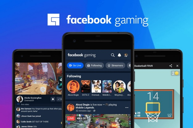 livestream facebook app and games android