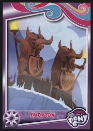 MLP Yakyakistan Series 4 Trading Card