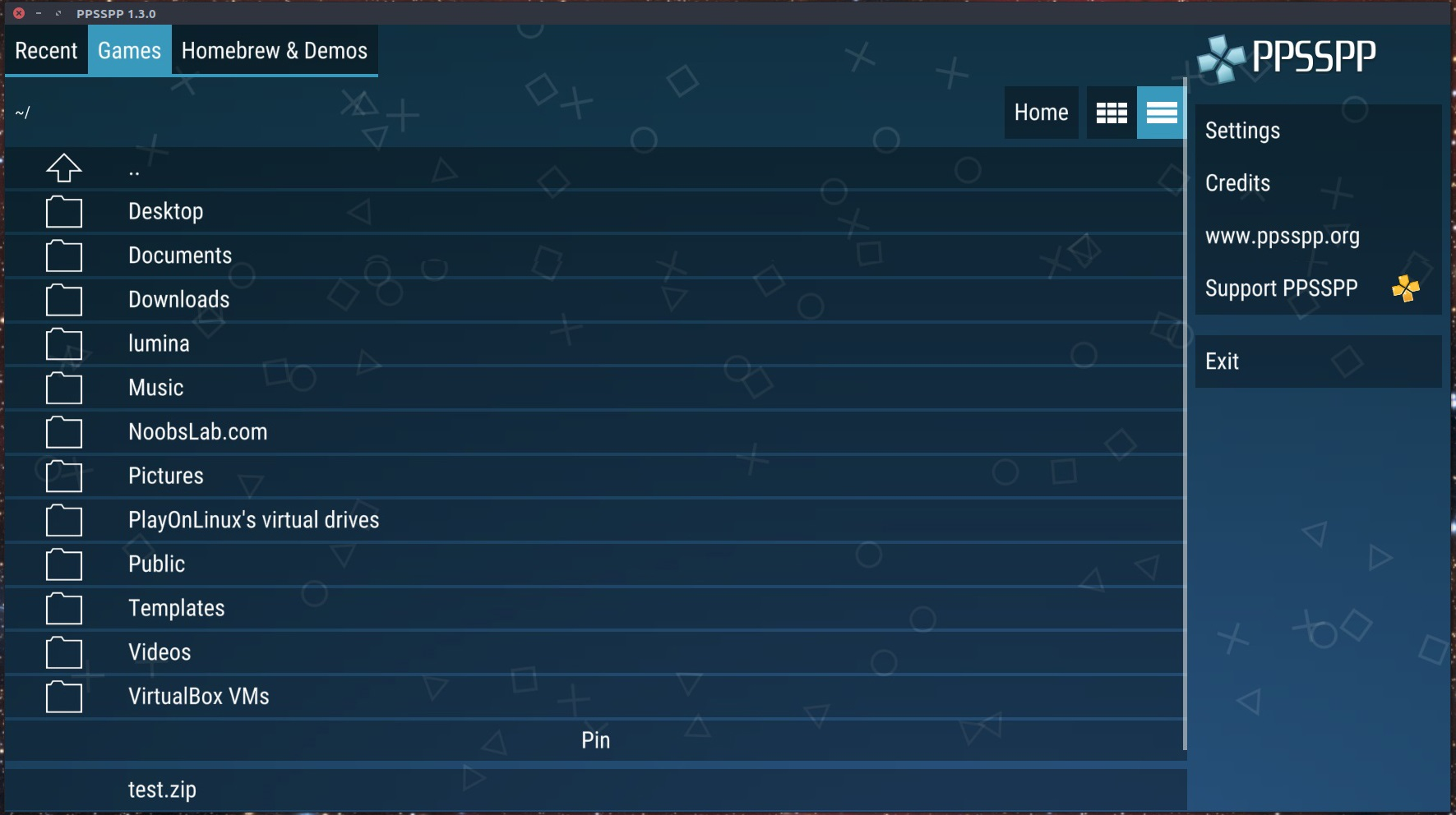 Install PPSSPP (PSP) Emulator 1.4.x Version In Ubuntu ...
